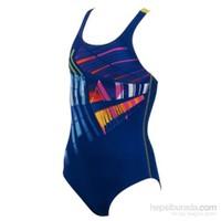 Arena 23809-83 G Trace Jr Kız Çocuk Yüzücü Mayosu
