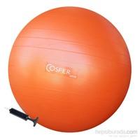 Cosfer 65 cm Pilates Topu Şişirme Pompası Hediyeli
