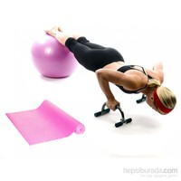 Tristar Pilates Power Set Fuşya