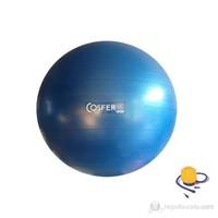 Cosfer Deluxe Anti-Burst Pilates Topu (65 cm Pilates Topu + Pompa)