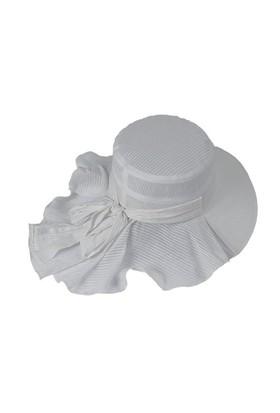 Bay Şapkacı Arkası Fırfırlı Şapka