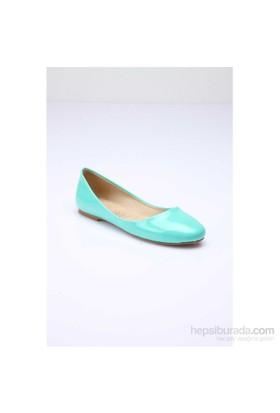 Shoes&Moda Kadın Babet Mint