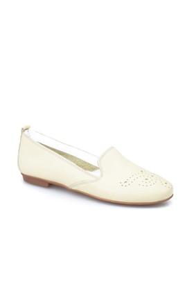 Cabani Kadın Ayakkabı Altın Rengi Deri