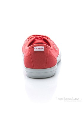 Lacoste Ziane Chunky Res Kadın Kırmızı Babet Ayakkabı (Spw1027-Rr