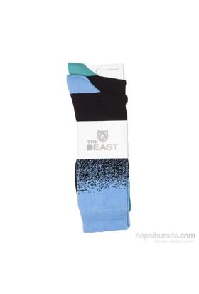 Byos The Beast Erkek 2 Li Desenli Çorap