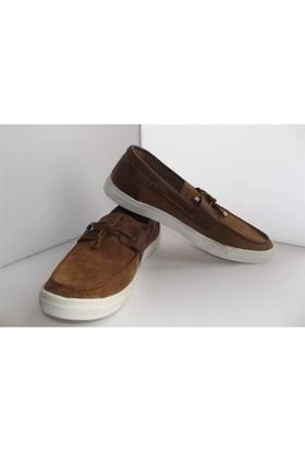 Süet Kahverengi Termo Kauçuk Taban Erkek Ayakkabı