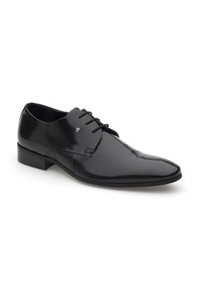 Pedro Camino Erkek Klasik Ayakkabı 70561 Siyah Rugan
