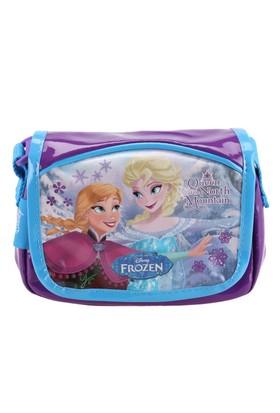 Frozen 86098 Mavi Kız Çocuk Omuz Çantası
