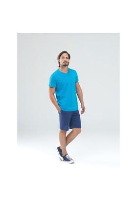 Blackspade Erkek T-Shirt 7357 Mavi