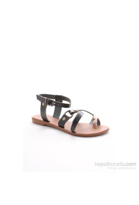 Gio&Mi Siyah Sandalet V21