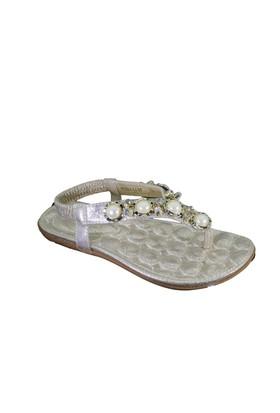 Despina Wandi Bilgi H1002-14 Günlük Kadın Taşlı Sandalet
