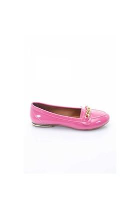 Shoes&Moda Fuşya Rugan Kadın Babet 509-1016-1030213
