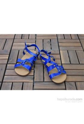 Gio&Mi Lacivert Sandalet Srv120