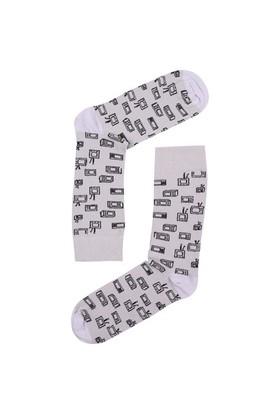 The Socks Company Tv Feet Desenli Erkek Çorap 41-45 Numara