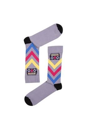 The Socks Company Boom Sox Desenli Erkek Çorap 41-45 Numara