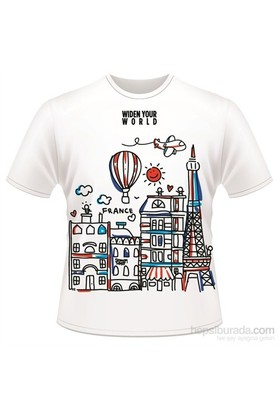 Tk Collection France T-Shirt Large