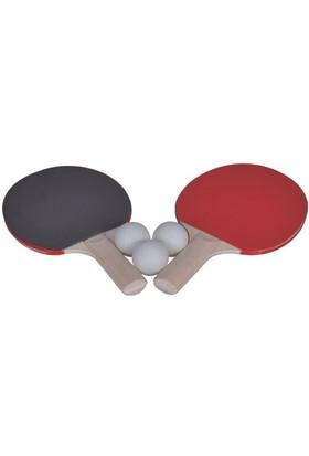 Enjoy Masa Tenisi (Pinpon) Seti - 2 Pinpon Raketi + 3 Pinpon Topu
