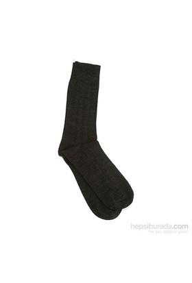 Miorre Derby Burun Dikişsiz Erkek Çorap Antrasit