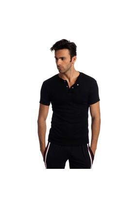 Bsm Erkek Çıtçıtlı Badi T-Shirt 11475