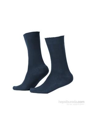 Miorre D&W Dikişsiz Erkek Çorap Lacivert