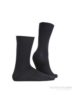 Miorre D&W Dikişsiz Erkek Çorap Siyah