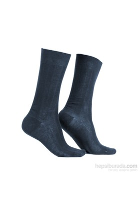 Miorre D&W Derby Pamuk Erkek Çorap Füme