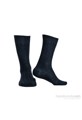 Miorre D&W Derby Pamuk Erkek Çorap Lacivert