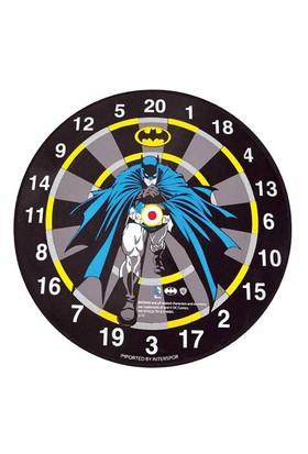 Voit Orijinal Lisanslı Batman Dart Seti, 6 Adet Ok, Çift Taraflı Kullanım, Çap 45cm