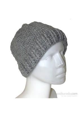 Pafuli Gri Erkek Şapkası