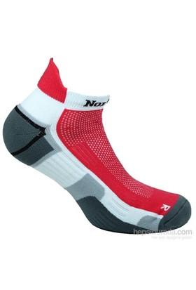 Norfolk Erkek Koşu Çorabı Kırmızı