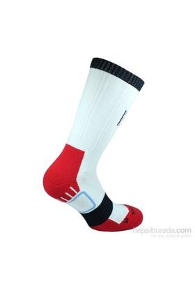 Norfolk Erkek Basket Çorabı Kırmızı