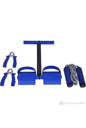Busso Aile Egzersiz Seti ( Atlama İpi & El Yayı & Bacak Çalıştırma ) BS131