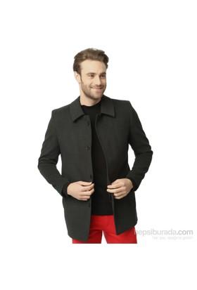 Dewberry Erkek Palto Antrasit