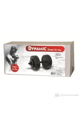 Dynamic 10Kg. Vinyl Dambıl Set 1DYASNN127