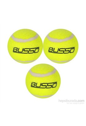 Busso CB30 Tenis Topu 3'lü