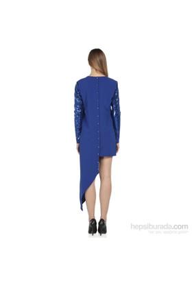 Karahasans Mavi Payetli Bluz 1