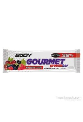 Bigjoy Gourmet Protein Bar - Red Fruits Flavor 35 gr *24 adet