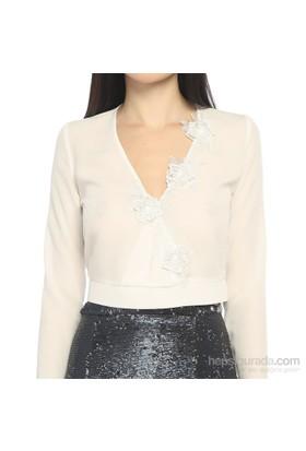 Karahasans Beyaz Bluz