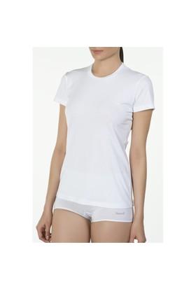 Kom Basic Tshirt Beyaz