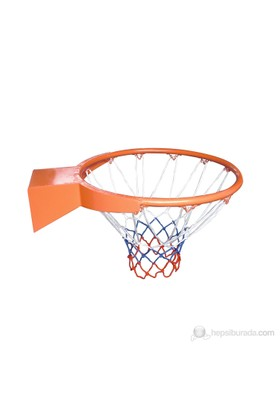 Delta İçi Dolu (Solid) Korumalı 20 mm Basketbol Çemberi + Basketbol Filesi - DS 8170