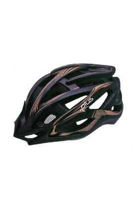 Plus Mv88 Siyah Kahverengi Bisiklet Kaskı