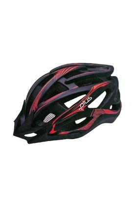 Plus Mv88 Siyah Kırmızı Bisiklet Kaskı