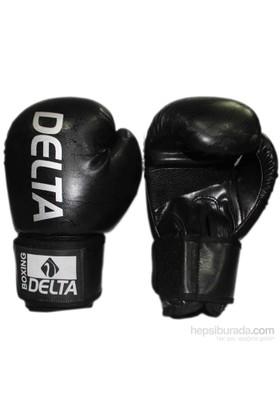 Delta Agre Siyah Deluxe PU Boks Eldiveni