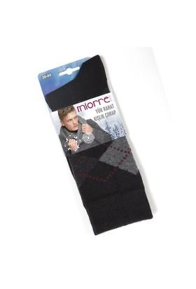 Miorre Ekose Desenli Yün Erkek Çorap