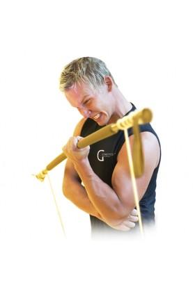 Gymstick Original (Çok Sert) Pilates Barı Altın Renk 11005