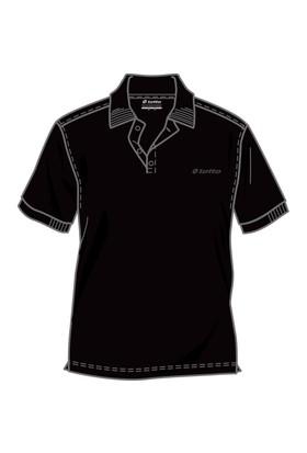 Lotto Brodsy Js Erkek Siyah Polo Tişört (R5098)