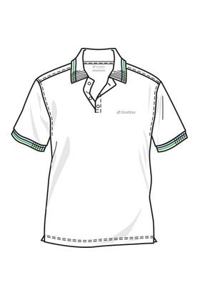 Lotto Brodsy Pq Erkek Beyaz Polo Tişört (R5113)