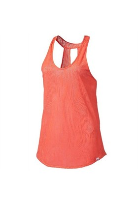 Puma Mesh İt Up Layer Tank Fluro Peach Kadın Atlet