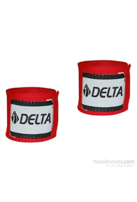 Delta Kırmızı 3.5 M. Deluxe Boks El Bandajı - EBK 195
