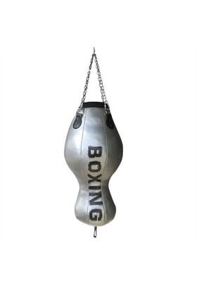 Spor Byfit Boxing Gri Aparkat Boks Kum Torbası